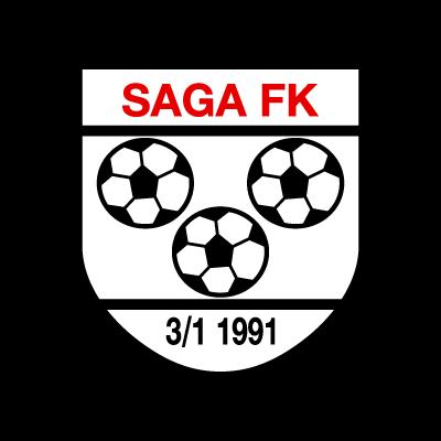Saga FK logo vector logo