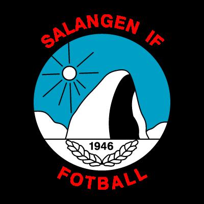 Salangen IF logo vector logo