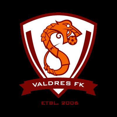 Valdres FK logo vector logo