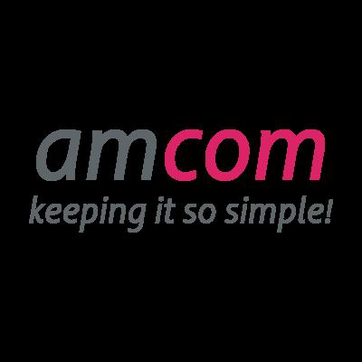 Amcom logo vector logo