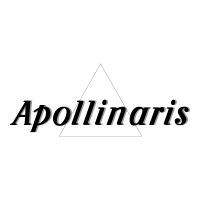 Apollinaris Black vector logo