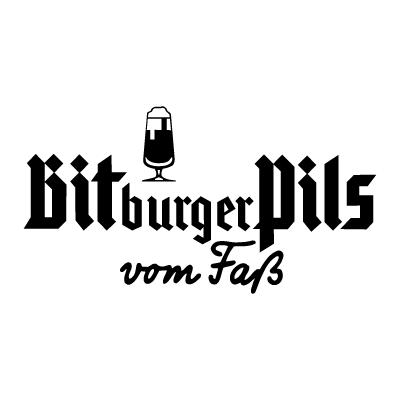 Bitburger Pils logo vector logo