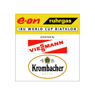 E-on Ruhrgas IBU Biathlon Worldcup logo vector logo