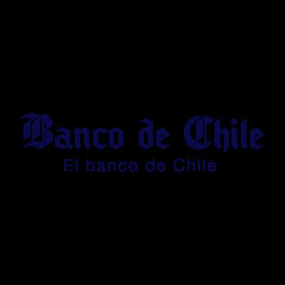 El Banco de Chile logo vector logo