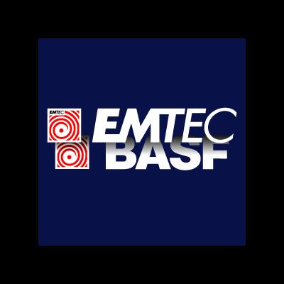 EMTEC BASF logo vector logo