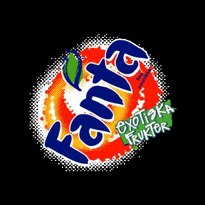 Fanta Exotiska logo vector logo