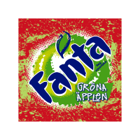 Fanta Green Apple logo