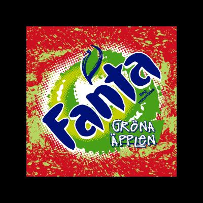 Fanta Green Apple logo vector logo