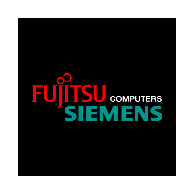 Fujitsu Siemens Computers Black logo vector logo