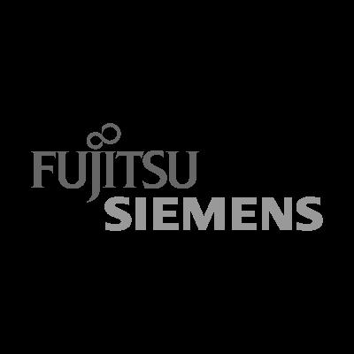 Fujitsu Siemens Gray logo vector logo