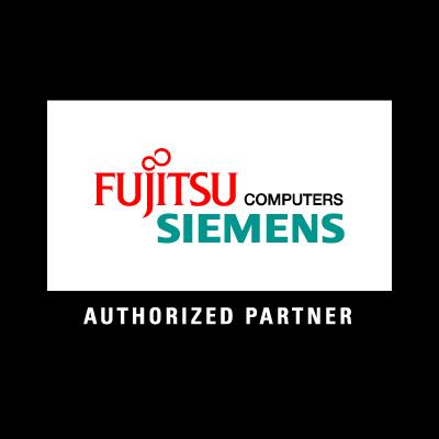 Fujitsu Siemens logo vector logo