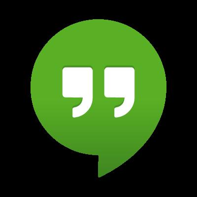 Google Hangouts logo vector logo