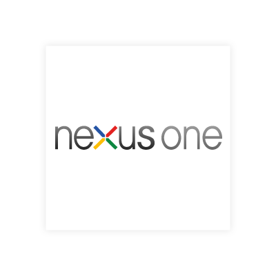 Google nexus one logo vector logo