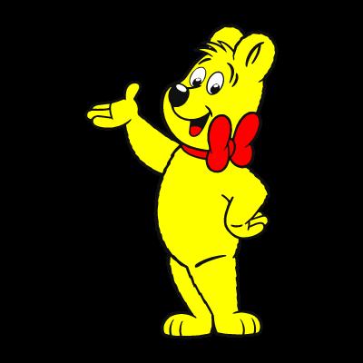 Haribo bear logo vector logo