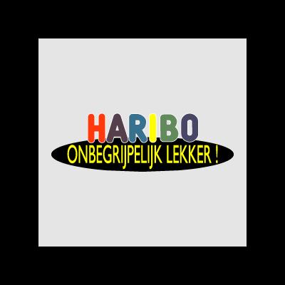 Haribo Onbegrijpelijk lekker logo vector logo
