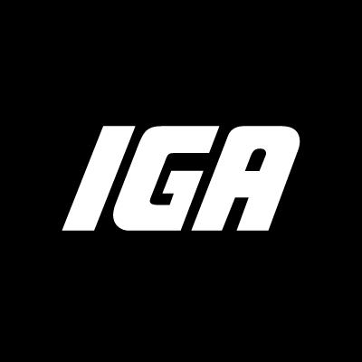 IGA supermarkets logo vector logo