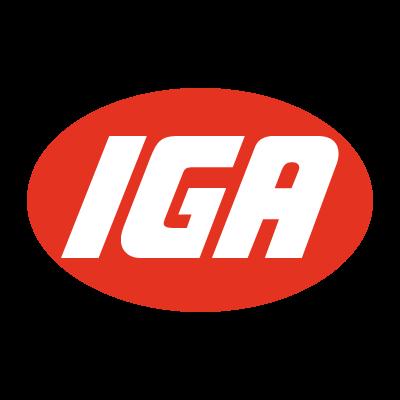 IGA logo vector logo