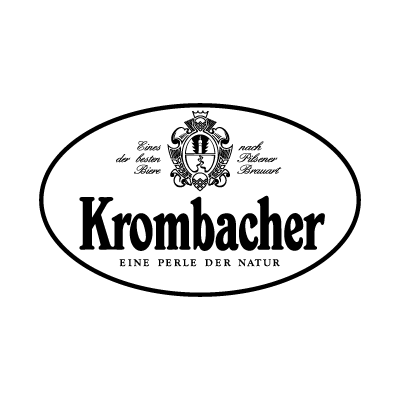 Krombacher Black logo vector logo