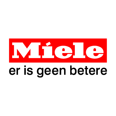 Miele dutch payoff logo vector logo