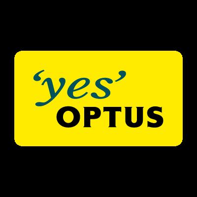 Optus company logo vector logo