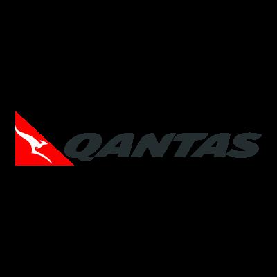 Qantas Australia logo vector logo