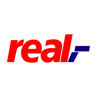 Real logo vector logo