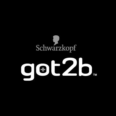 Schwarzkopf got2b Black logo vector logo