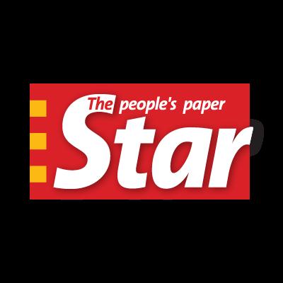 Star paper logo vector logo