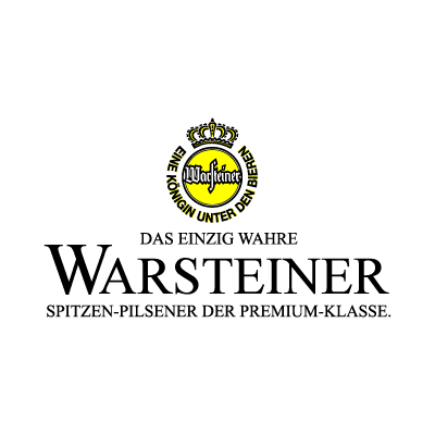 Warsteiner Beer logo vector logo