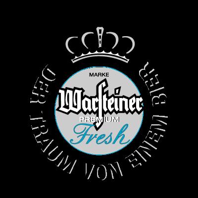 Warsteiner Premium Fresh Beer logo vector logo