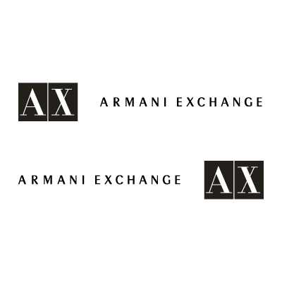 A|X Armani Exchange logo vector logo