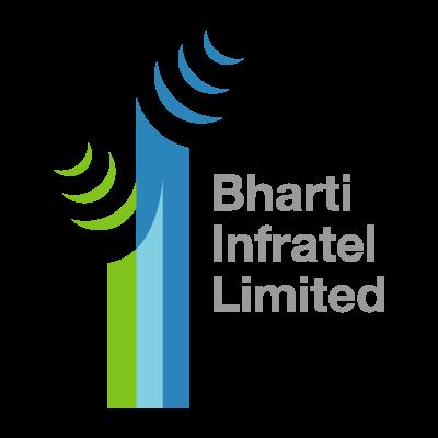 Bharti Infratel logo vector logo