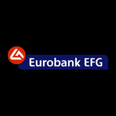 Eurobank EFG SA logo vector logo