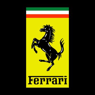 Ferrari Auto logo vector logo