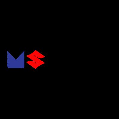 Maruti Suzuki India logo vector logo