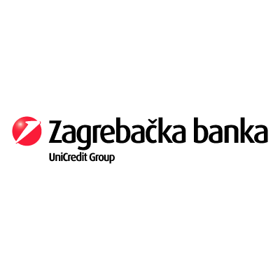 Zagrebacka banka unicredit logo vector logo