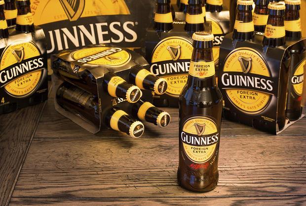 Guinness logo the harp