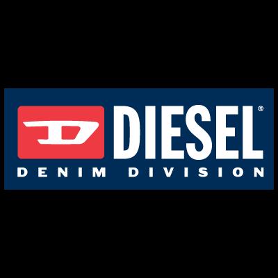 Diesel denim division logo vector logo