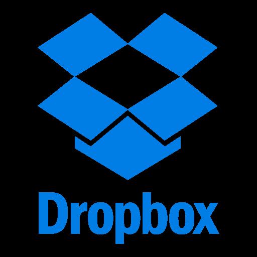 Dropbox logo vector logo