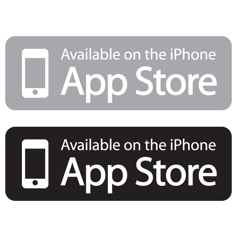 Available on the App Store logo vector logo