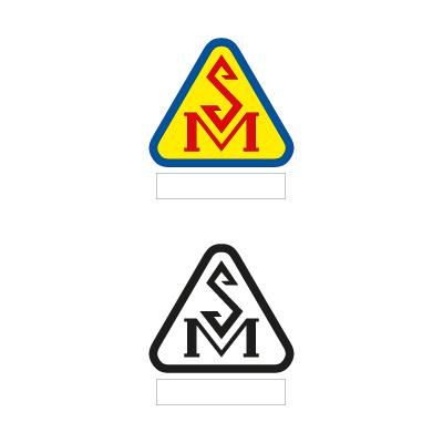004 sign vector logo