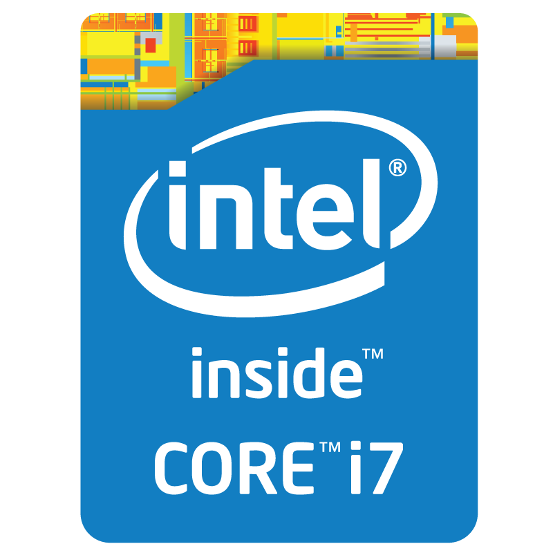 Intel Core i7 inside logo vector logo