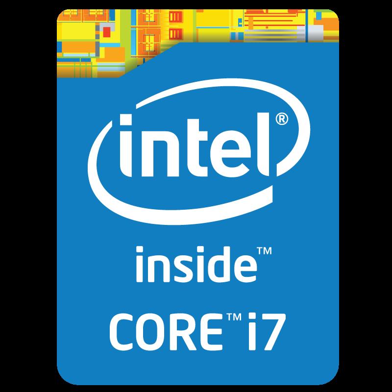 Intel Core i7 inside logo vector logo