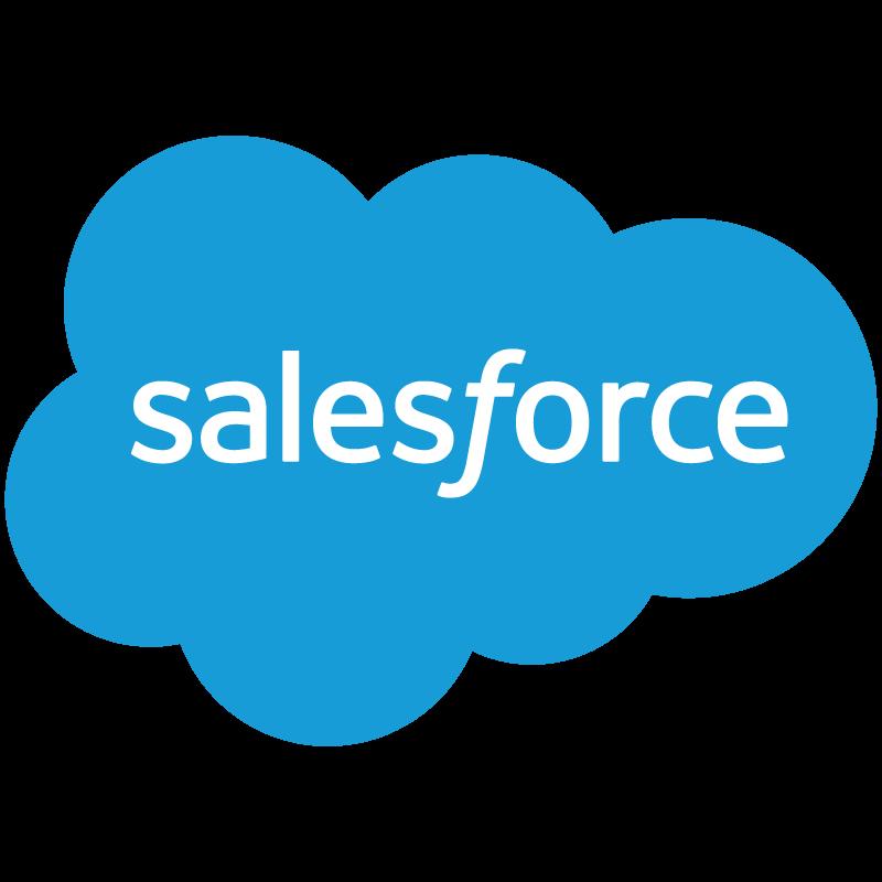 Salesforce logo vector logo