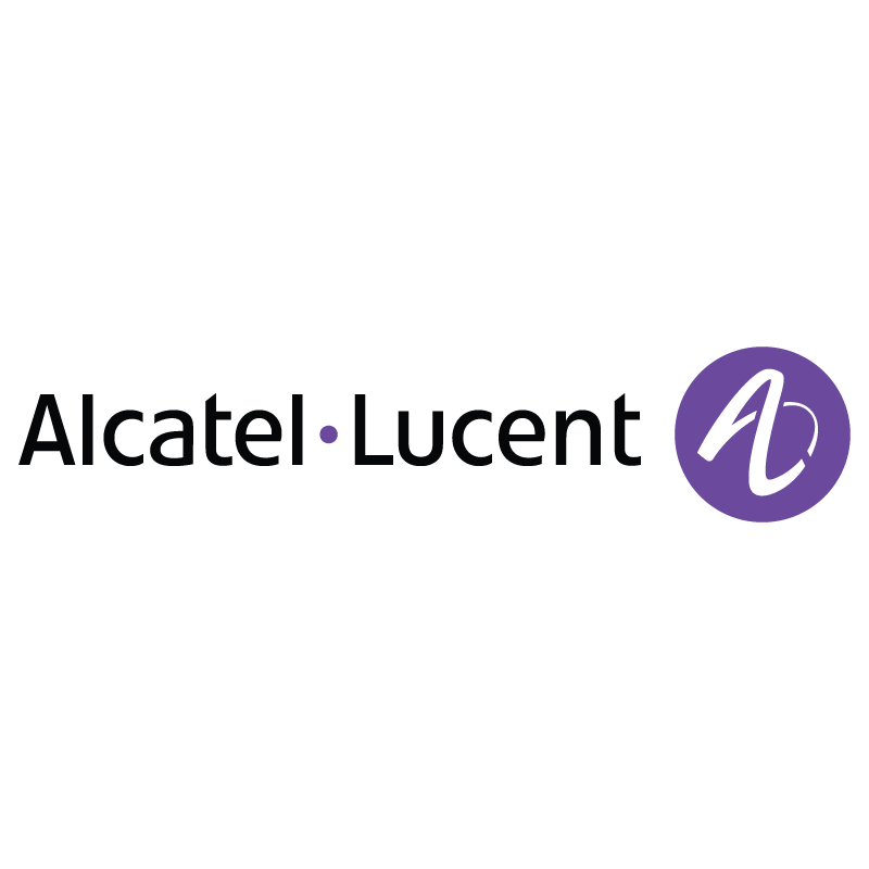 Alcatel-Lucent flat logo vector logo