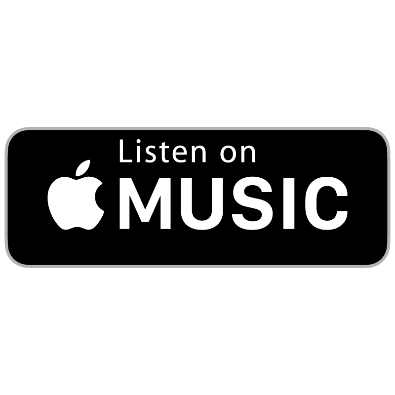 Listen on Apple Music Badge logo vector logo
