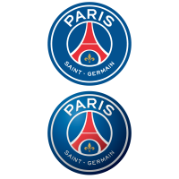 New Paris Saint-Germain FC (2D + 3D) logo