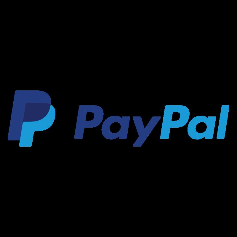 New PayPal logo vector logo