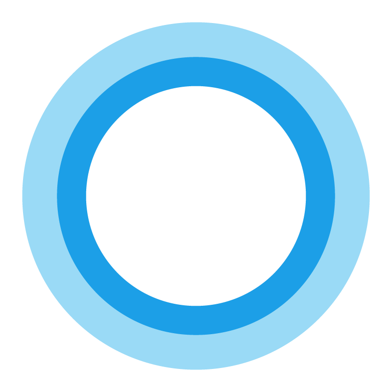 Microsoft Cortana logo vector logo