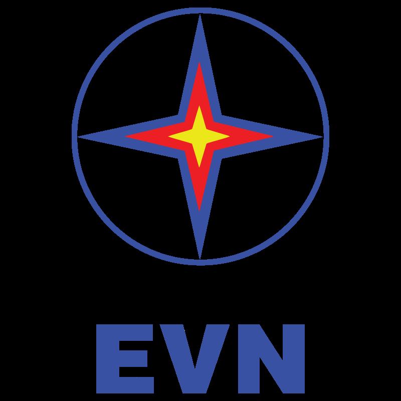 EVN logo vector logo